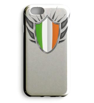 Irland-Ireland Wappen Flagge 013