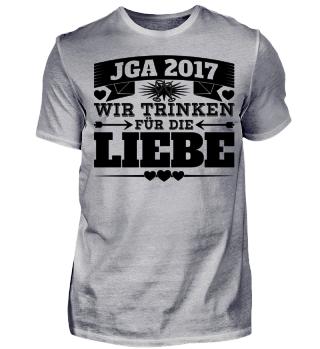 JGA Junggesellenabschied 2017