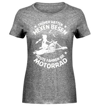 Früher hatten Hexen Besen 2 - Motorrad
