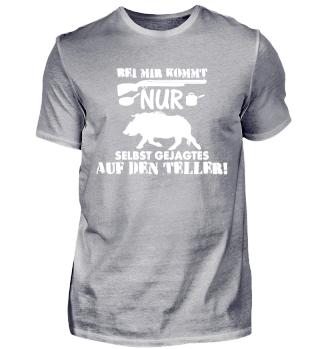 Jäger T-Shirt Wildschweinjagd