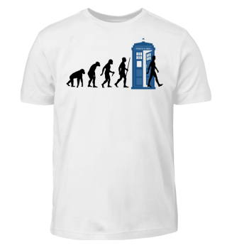 Evolution Of Humans - Police Box VI