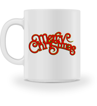 Merry Christmas - Vintage Retro Font
