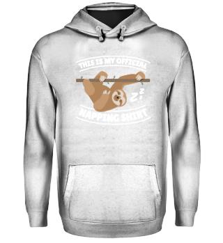Funny Sloth Official Napping Shirt
