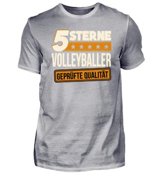 5 Sterne Volleyballer Volleyball