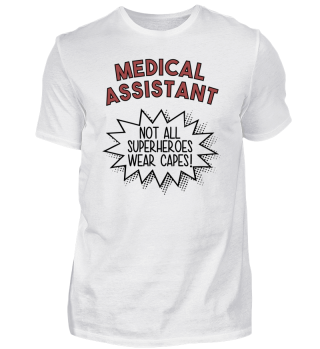 Superhero Capes Medical Assistant