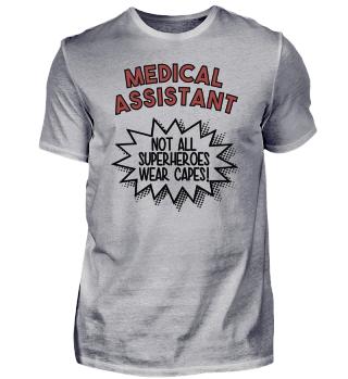 Superhero Capes Medical Assistant