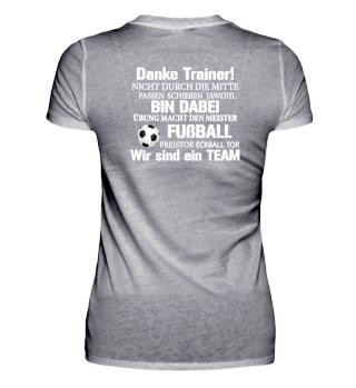 Fußball Jugend Trainer - Danke sagen!
