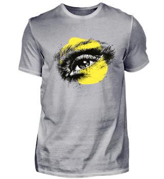 Gelbes Auge