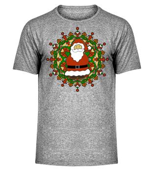 ★ Christmas - Santa Claus Mandala I
