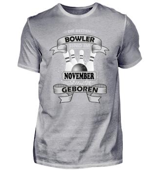 Die besten Bowler sind November geboren