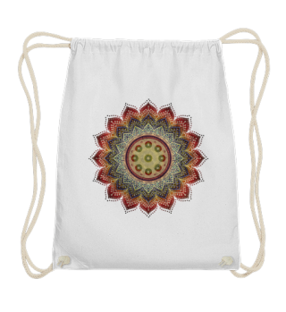 Handpan - Hang Drum Mandala earth colors