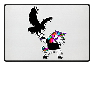 Dabbing Rainbow Unicorn - Eagle Mouse 2