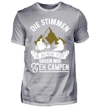Camper Camping Wohnwagen Stimmen