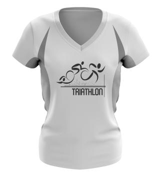 Damen Triathlon Funktionsshirt
