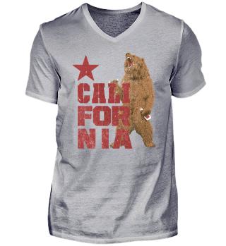 California Grizzly Bär Bier T-shirt