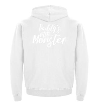 Daddy's little Monster - white
