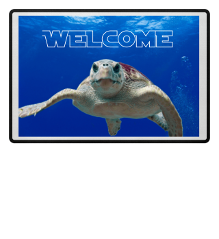 ♥ Photo - Wise Sea Turtle - Text