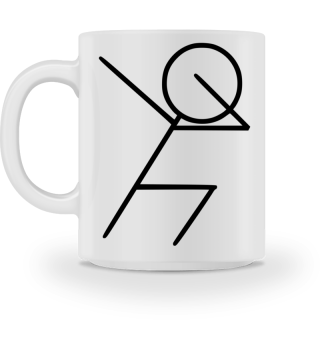 DAB Fussball Dabbing - Tasse Kaffeetasse