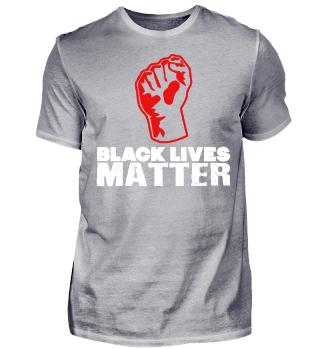 schwarzer Stolz Black Lives Matter