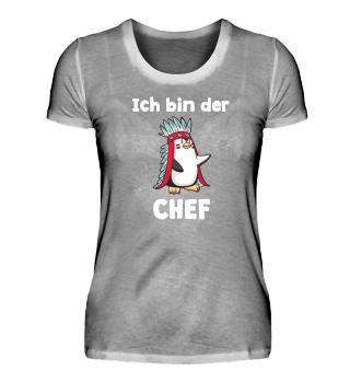Pinguin Shirt lustiger Spruch Geschenk