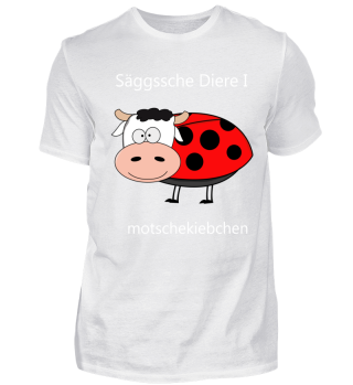 Marienkäfer auf Sächsisch