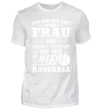 Lustiges Baseball Shirt Ich Bin Die Art
