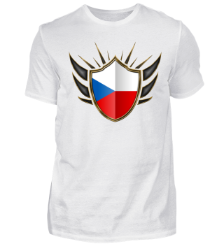 Tschechien-Czech Wappen Flagge 014