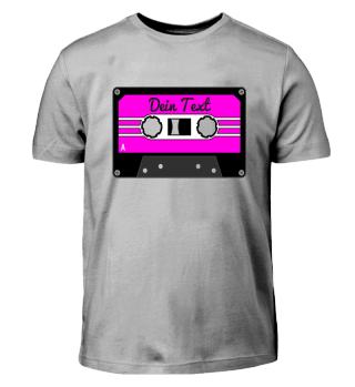 MIXTAPE pink - DEIN TEXT