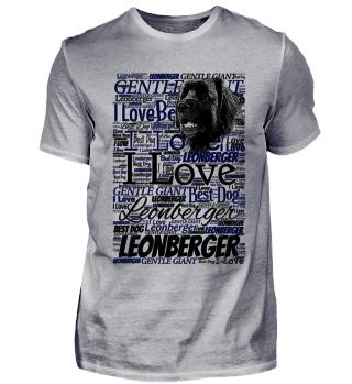 Leonberger Text - Hunde T-Shirt
