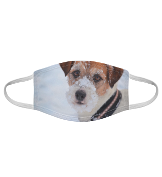 Gesichtsmaske mit Hundemotiv 20.27