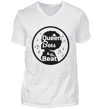 Queen Bees V-Neck Herrenshirt