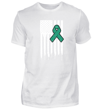 Fck Cancer Shirt liver cancer