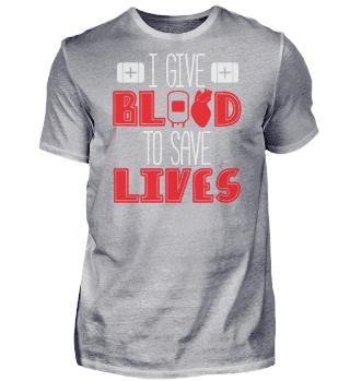Blood Donor Saying Joke Blood Donation