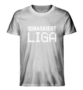 Liga T-Shirt Men, Logo weiß