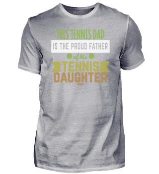 Tennis teacher Father Daughter coach