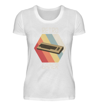 Retro gamer gaming vintage retro