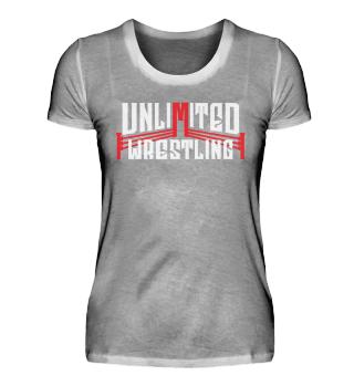 Unlimited Wrestling Logo Girlie