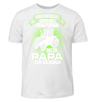 Kinder Shirts - Papa Traktor spielen