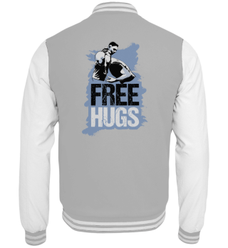 Free Hugs vechten vechtsporten grappig M
