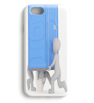 TOILET PRANK PREMIUM iPHONE CASE