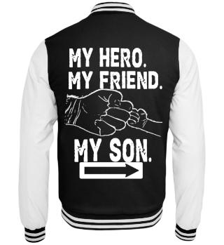 Das Papa und Sohn Geschenk Shirt