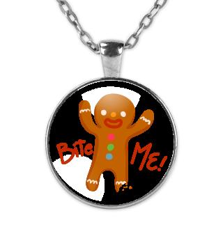 Gingerbread Man Bite Me! Christmas Gift