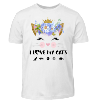CAT-FACE - I LOVE MY CATS #4.2