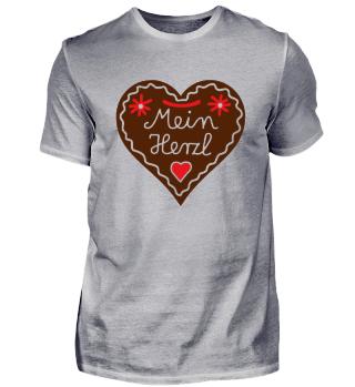 Lebkuchenherz Liebe - Mein Herzl