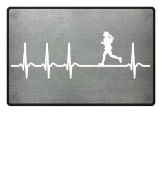 Heartbeat Jogger Runner Jogging Running