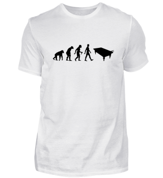 Evolution Of Humans - Snooker Table I