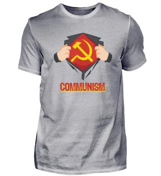 Superhero Hammer Sickle Red USSR Gift