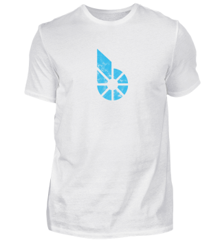 BitShares T-Shirt (BTS) - Logo Used Look