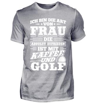 Golf Golfer Shirt Ich Bin Die Art