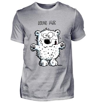 Hug Me Bär - Teddy - Eisbär